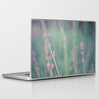 lavender Laptop & iPad Skins featuring Lavender by Light Wanderer