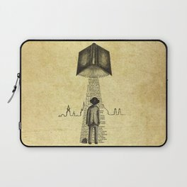 Take Me To Your Reader Laptop Sleeve