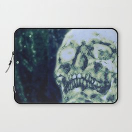 Glitter Skull Laptop Sleeve