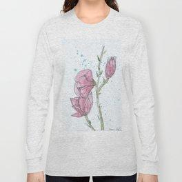 Magnolia #2 Long Sleeve T-shirt