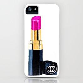 Pink Lipstick iPhone Case
