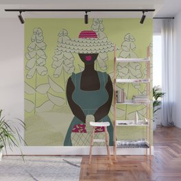 Berry Pleased No 04 (square) Wall Mural