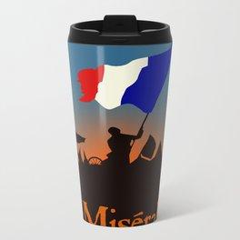 Les Miserables Metal Travel Mug