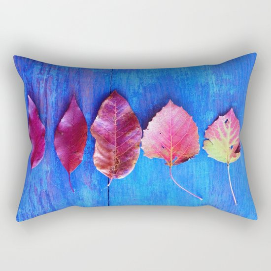 It's a Colorful World Rectangular Pillow