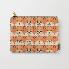 cute hamster pattern Carry-All Pouch
