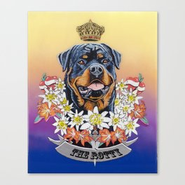 The Rotty Canvas Print