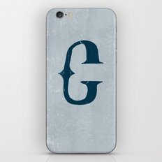 Letter C - Letter A Day Project iPhone & iPod Skin
