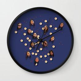 Happy girl #1 Wall Clock