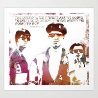 ferris bueller Art Prints featuring Ferris Bueller is my Hero by geo22273