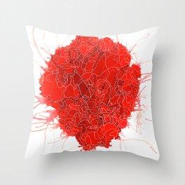 An Open Heart Throw Pillow