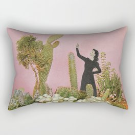 The Wonders of Cactus Island Rectangular Pillow