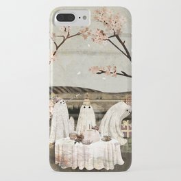 Ghost Birthday Party iPhone Case