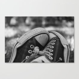 Sneakers in the Park Canvas Print