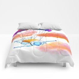 Dive the Sky Comforters