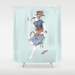 Pau Shower Curtain