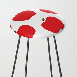 Red Apples Counter Stool
