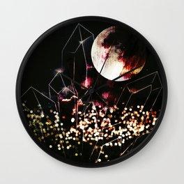 space cr Wall Clock