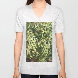Hedge Cactus, Queen of the Night Unisex V-Neck