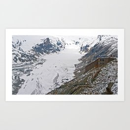 High up in the Alps Art Print