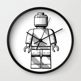 Lego Man original Lego patent Wall Clock