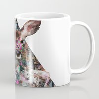 ariana grande Mugs featuring ▲BOSQUE▲ by Kris Tate