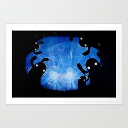 headlights Art Print