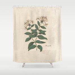 The Fragrant Honeysuckle Shower Curtain