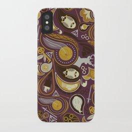 Potter Paisley iPhone Case