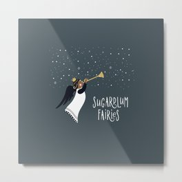 Sugarplum Fairies Metal Print