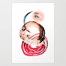 Her Mind is Lovely Art Print
