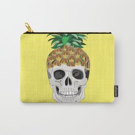 Pineskull Yellow Carry-All Pouch
