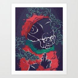 Faded Art Print