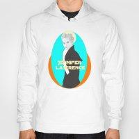 jennifer lawrence Hoodies featuring Jennifer Lawrence (Star Wars Concept Art) by Rene Alberto