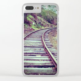 Valley Railway Clear iPhone Case