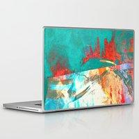 surfing Laptop & iPad Skins featuring Surfing by Fernando Vieira