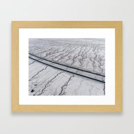 Bleak Vines Framed Art Print