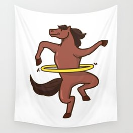 fitness horse Wall Tapestry