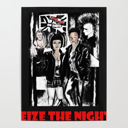 Seize the Night Alternative life style Poster
