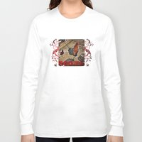 rooster Long Sleeve T-shirts featuring Rooster by Justin Alan Casey
