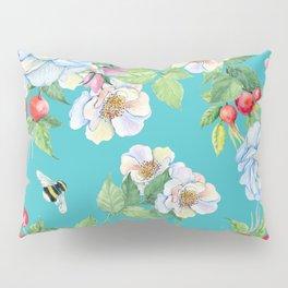 Vintage Floral Pattern No. 3 Pillow Sham