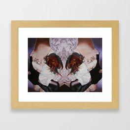 the flask the flutter Framed Art Print
