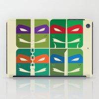tmnt iPad Cases featuring TMNT by Szoki