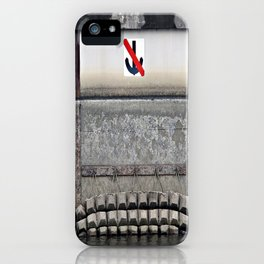 Don't Drop Anchor Here iPhone Case