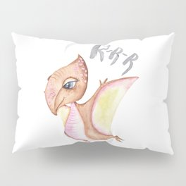 Dinosaur Illustration Pillow Sham