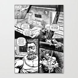 Dunari Dojo (tav_02) Canvas Print