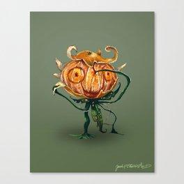Mr. Orange Canvas Print