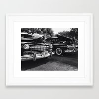 old school Framed Art Prints featuring Old School by Xneon