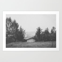 CABIN IV / Austria Art Print