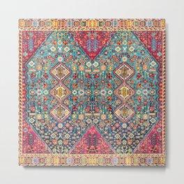 Oriental Heritage Moroccan Carpet Style Metal Print