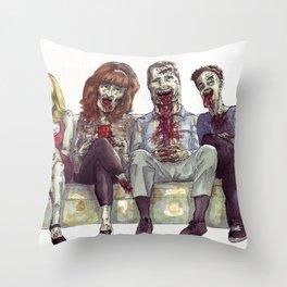 Dead whit children Throw Pillow